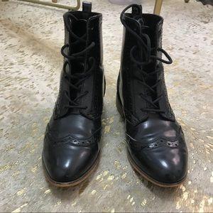 ShoeDazzle Shoes - Lace Up Booties